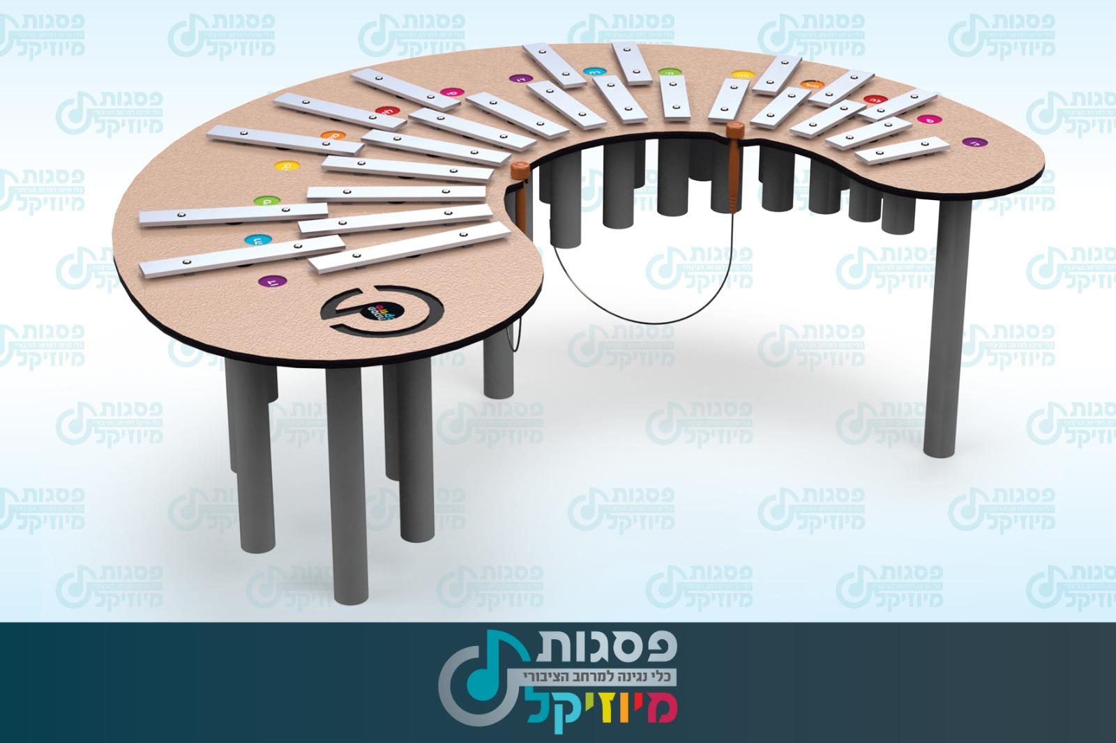 אורגן MU-P9602, פסגות מיוזיקל, כלי נגינה במרחב הציבורי